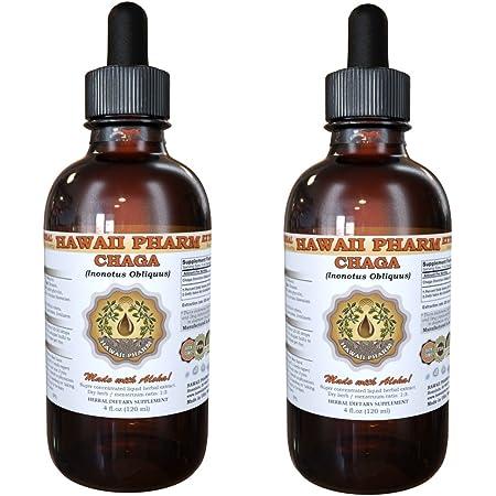 Chaga Liquid Extract, Chaga (Inonotus obliquus) Tincture 2x2 oz