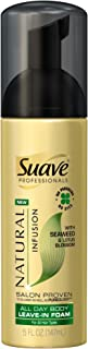 Suave Professionals All Day Body Leave-In Foam, Seaweed & Lotus Blossom 5 oz