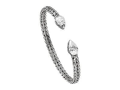 John Hardy Classic Chain Hammered Cluster Flex Cuff Bracelet (Sterling Silver) Bracelet