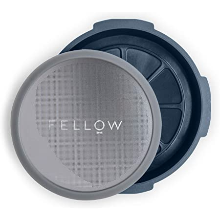 Fellow Prismo, Pressure-Actuated Attachment for AeroPress Coffee Maker with Reusable Filter, Espresso-Style, No-Drip Immersion, and Cold Brew at Home