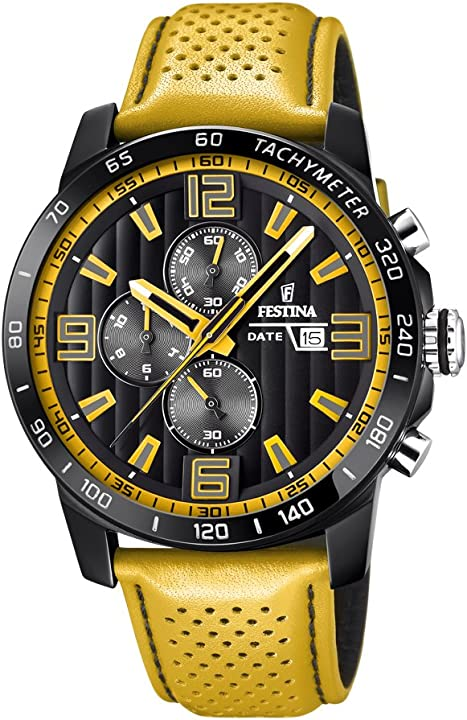 orologio festina cronografo quarzo orologio da polso f20339/3