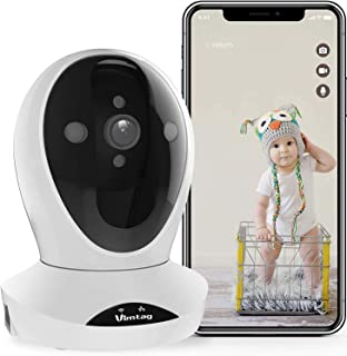WiFi Security Camera Indoor-Vimtag Surveillance IP Camera, Dome 1080P HD WiFi Home Camera with Smart Motion Tracking, Nigh...