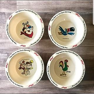kellogg's collectible cereal bowls