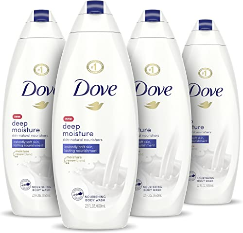 Dove Body Wash with Skin Natural Nourishers for Instantly Soft Skin and Lasting Nourishment Deep Moisture Effectively...