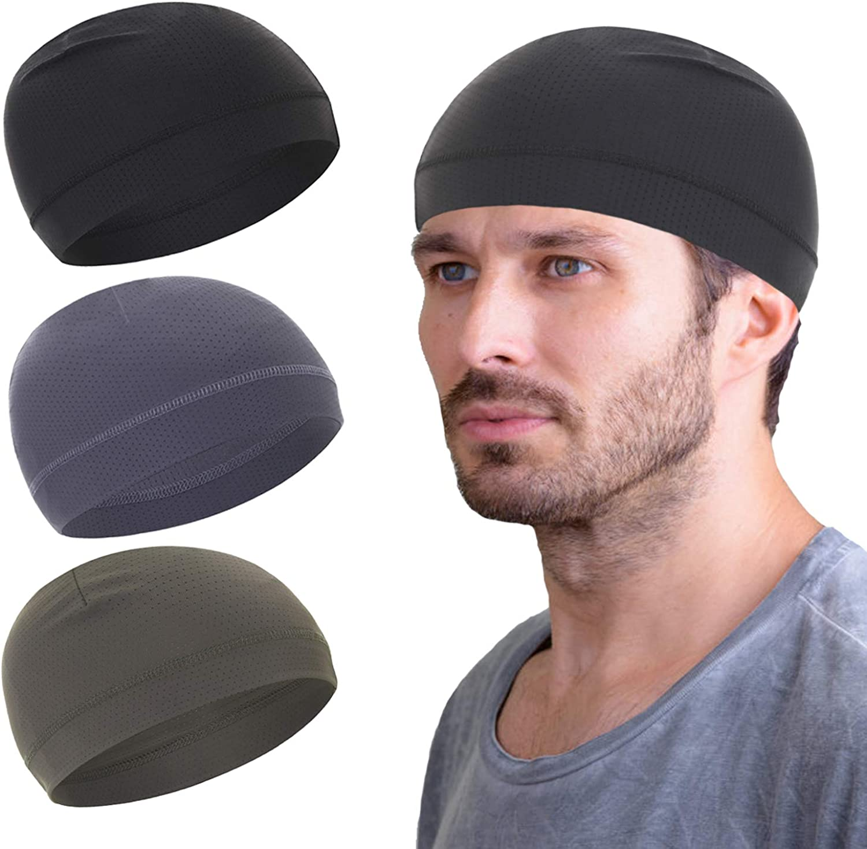 Classic quality assurance Mesh Dry-Fit Helmet Liner for Men Moistu Women Skull Cap Cooling