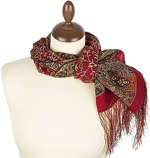 Shawl Pashmina Scarf Wrap №106 Wool/Silk Fringes 59×23.6'' 12 colors