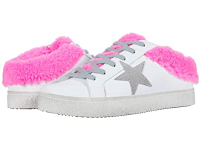 Steve Madden Polaris Sneaker Mule (White/Pink) Women