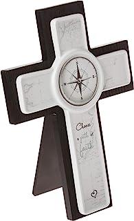 Precious Moments Confirmation 192404 Choose A Path of Faith Wood and Ceramic Cross, Multi