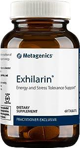 Metagenics Exhilarin® – Energy and Stress Tolerance Support* – Ayurvedic Formula with Ashwagandha, 60 tablets