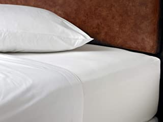 Westin Ultra Luxe Fitted Sheet - Soft, Luxurious 600 Thread Count Cotton Fitted - White - King