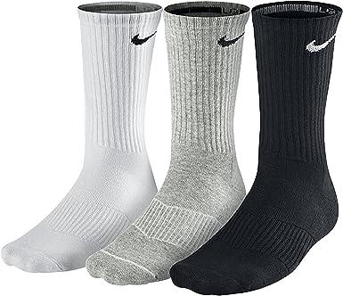 Pacer septiembre agudo  Nike Cushion Crew - Calcetines unisex: Nike: Amazon.es: Ropa y accesorios