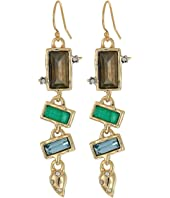 Alexis Bittar - Molten Multi-Stone Wire Earrings