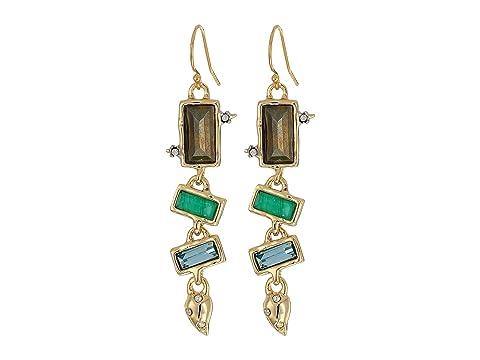 Alexis Bittar Molten Multi-Stone Wire Earrings