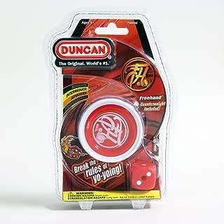 Duncan Freehand Yo-Yo (White/Red)