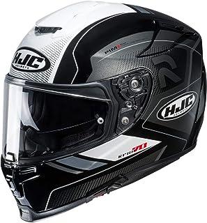 HJC Helmets Motorradhelm HJC RPHA 70 COPTIC MC5, Schwarz/Weiss, XL 14470510