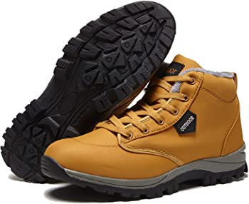 Owarrla Unisex Waterproof Hiking Boots