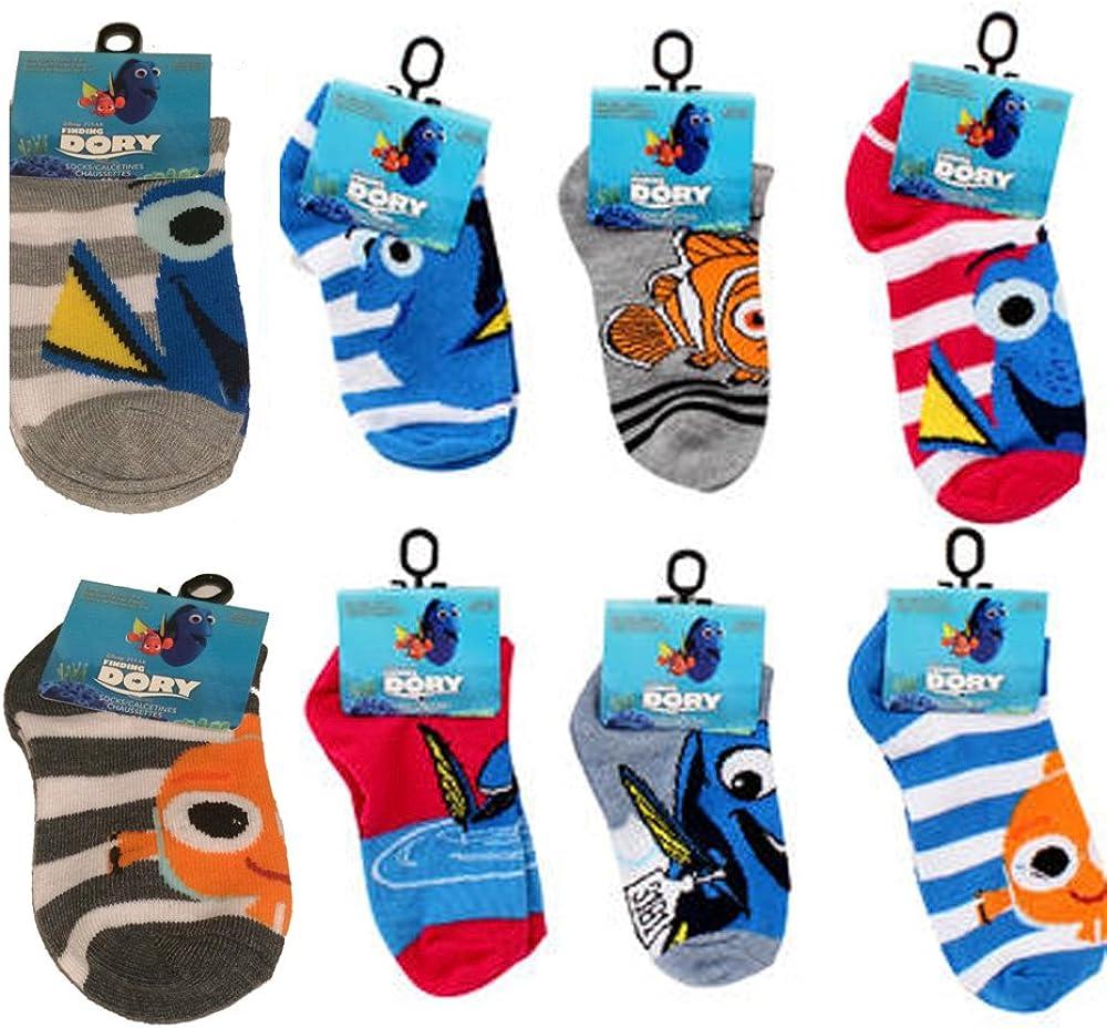 Disney Pixar Finding Dory Nemo mart Childrens 4-6 Socks Multi-Pack Chicago Mall