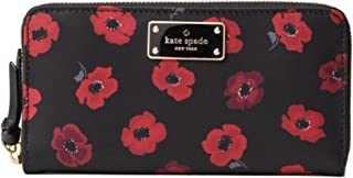 Kate Spade Mini Poppy Neda Wilson Road Wallet Multi Nylon