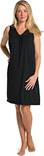 cotton sleeveless nightgown