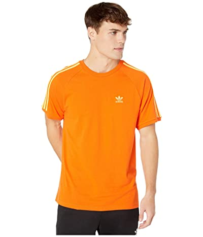 adidas Originals BLC 3-Stripes Tee (Orange) Men