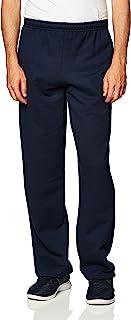 Gildan Men's Fleece Open Bottom Pocketed