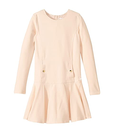 Chloe Kids Milano Dress w/ Wide Pleats (Big Kids)