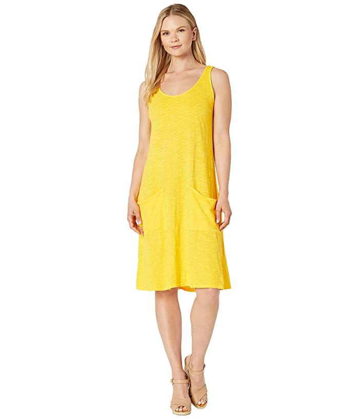 Fresh Produce  Drape Dress (Mango Yellow) Womens Dress