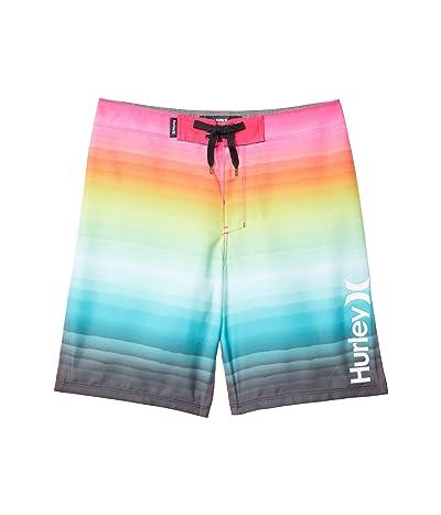 Hurley Kids Gradient Boardshorts (Big Kids) (Digital Pink) Boy