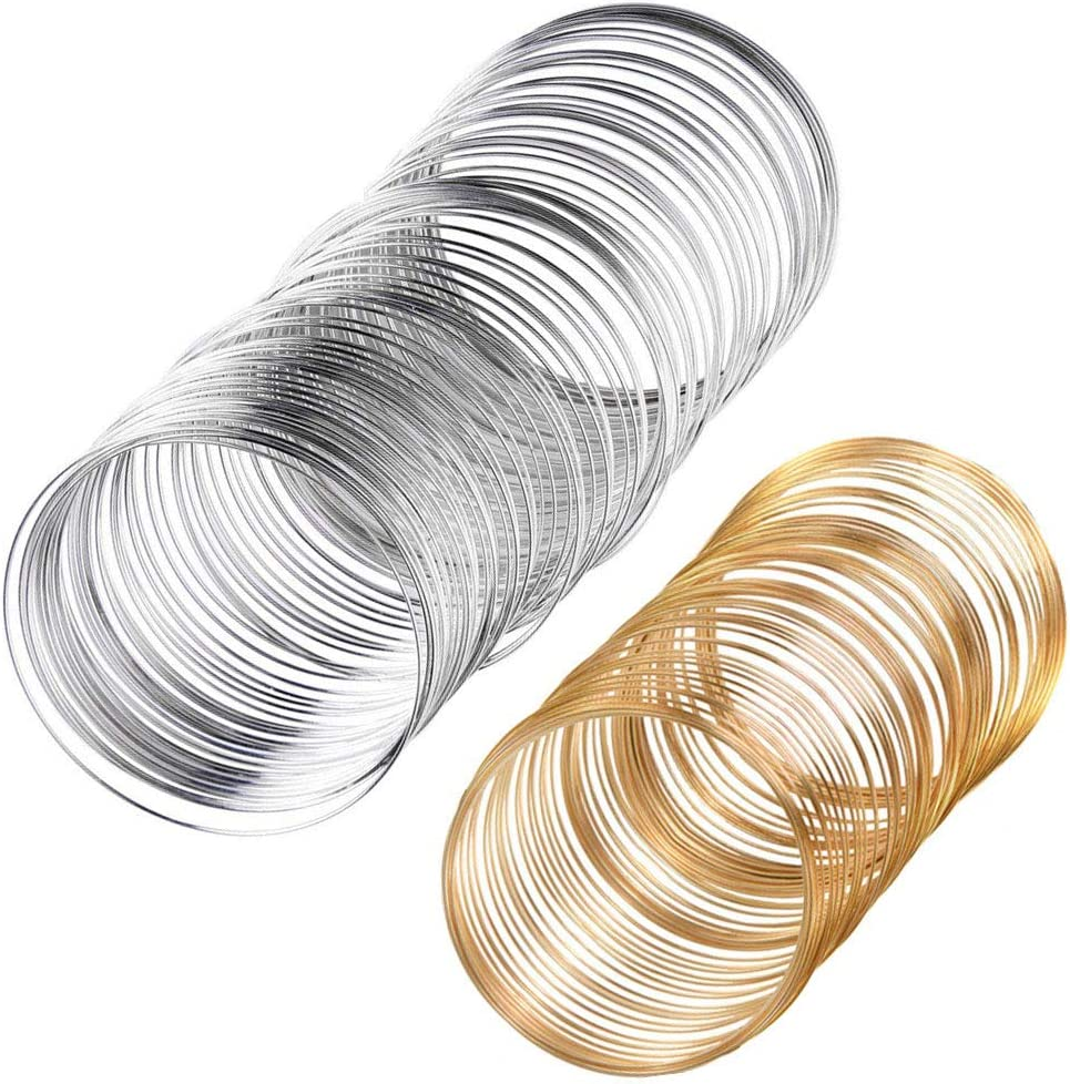 stainless steel-shaped memory wire 1mm 20 or 50 rounds