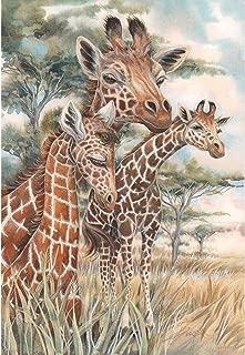 DIY 5D Diamond Painting Full Round Drill Kit Rhinestone Picture Art Craft for Home Wall Decor 12x16In Three Giraffes