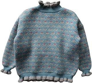 Ohrwurm Turtleneck Sweater Winter Warm Knit Pullover Sweater for Baby Kids 2-7 Years