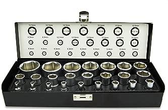 41x46mm entrecaras 41 x 46 mm Cromado KS Tools 518.0885 Llave de Vaso para Tubos
