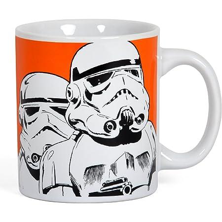 Star Wars Mix auf Stapel Becher Kaffee Han Solo Stormtrooper Disney Offiziell