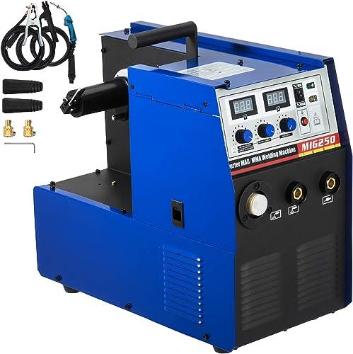 discount Mophorn MIG Welder 250 Amp MIG MAG Arc MMA Stick Multifunction DC new arrival Welder MIG wholesale Welding Machine 220V Voltage IGBT Inverter Welding Soldering Machine MIG Stick Welder (MIG 250 Amp 220V) online sale