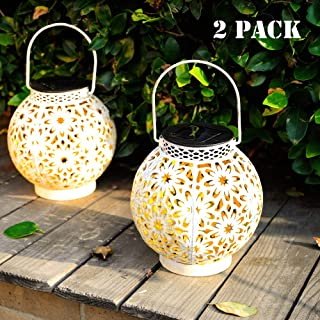 Best solar powered hanging lanterns outdoor Reviews