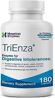 Houston Enzymes TriEnza - 180 cápsulas (90 dosis) | Enzimas de amplio espectro para intolerancias digestivas | Apoya la di...