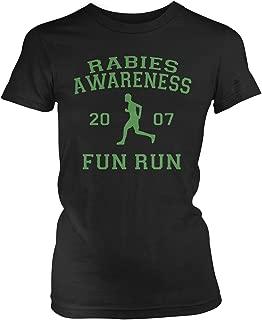 Junior's The Office Rabies Awareness Fun Run 2007 T-Shirt