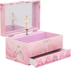 TROUSSELIER - Ballerina - Photoluminescent Musical Jewelry Box - Glow in the Dark - Pink