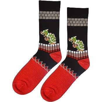 Dungeon Super Mario Bros Classic King Koopa (Bowser) Socks