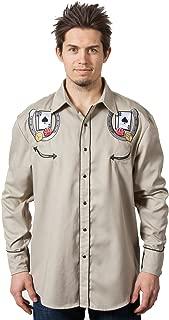 Benny's Las Vegas Casino Blackjack Dice Western Shirt