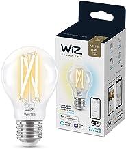 Wiz WiFi LED Filament Bulb Dimmable White A60 60W E27 2700-6500K 6.7W (60W Equivalent), A++