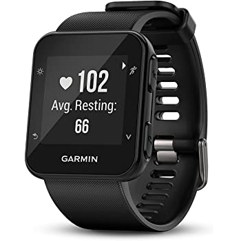 Garmin 010-01689-00 Forerunner 35; Easy-to-Use GPS Running Watch, Black