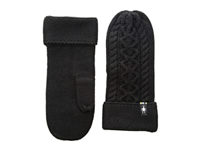 Smartwool Bunny Slope Mitten (Black) Extreme Cold Weather Gloves
