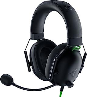 Razer Fone de ouvido para jogos BlackShark V2 X: Som surround 7.1 - Drivers de 50 mm - Almofada de espuma de memória - PC,...