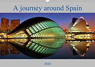 A journey around Spain (Wall Calendar 2020 DIN A3 Landscape): The most beautiful city views of Spain (Monthly calendar, 14 pages ) (Calvendo Places)
