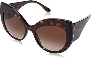 sunglasses (DG-4321 502/13) Dark Havana - Brown Gradient lenses