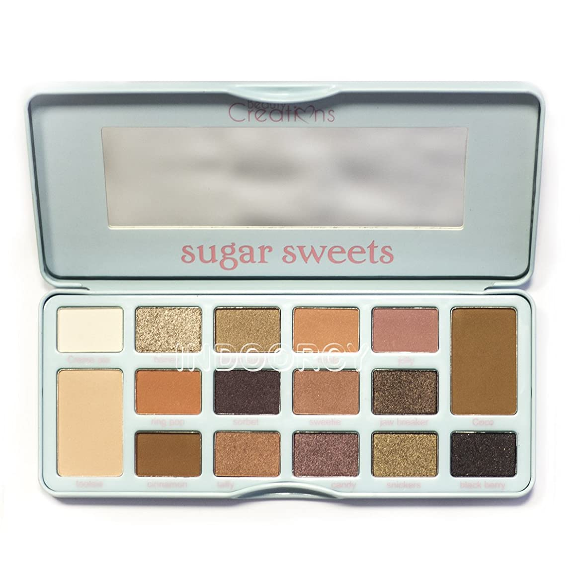 直接救出徴収BEAUTY CREATIONS Sugar Sweets Palette Display Set, 6 Pieces (並行輸入品)