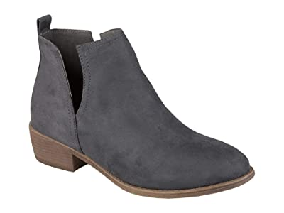 Journee Collection Rimi Bootie (Grey) Women
