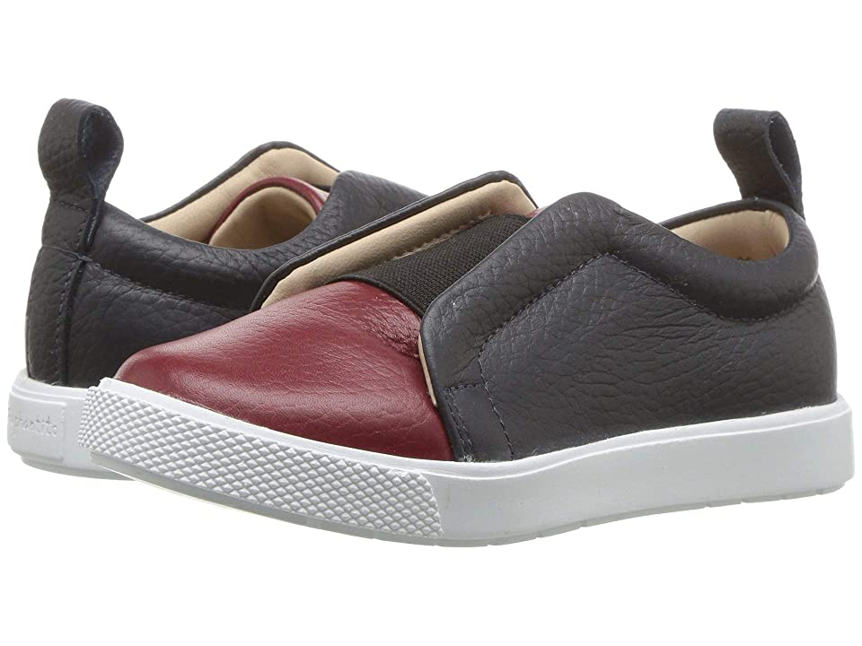 Elephantito Indie Slip-On (Toddler/Little Kid/Big Kid) (Textured Red) Girls Shoes