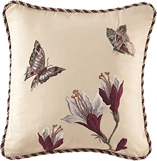 WAVERLY 13155016X016MUL Laurel Springs Embroidered Accent Pillow, 16